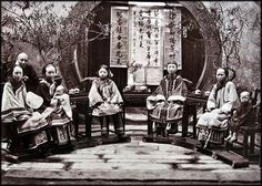 Chinese Family [c1875] Attribution Unk [RESTORED] by ralphrepo, via Flickr