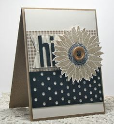 Hey There .... rosigrl!: somber sunflower...