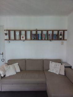 Ladder boekenplank