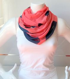 Scarf With Spotted DesignLoop Scarfinfinity scarfcute by BestScarf, $17.90