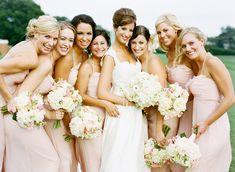 pretty in pink bridesmaids   Adam Barnes