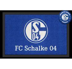 Schalke 04 Fußmatte Logo. Hier bei www.closeup.de