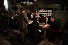 Behind the Scenes of Downton Abbey at Ealing Studios