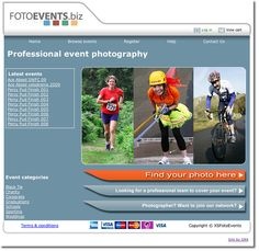 Extreme Sports photolibrary website