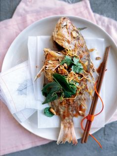 Donna Hay Crispy Snapper - the perfect summer dinner!