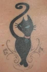 Výsledok vyhľadávania obrázkov pre dopyt cat tattoo