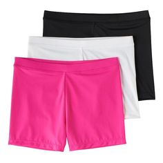 f1cf7436891 Girls 4-12 2-pack + 1 Bonus Playground Pals Bike Shorts