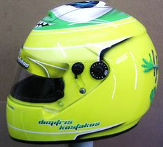 Kart Helmet Design #171 ~ Hand Painted Helmets - Design your helmet today..!!