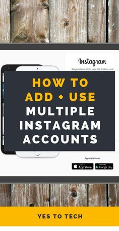 Wondering how to add and use multiple Instagram accounts? In this Instagram multiple accounts tutorial, I'll be sharing how to make a second Instagram account and how to add another Instagram account to your phone so that you don't have to log off and log on each time you wish to use a different Instagram account #instagram #instagrammarketing Instagram Handle, New Instagram, Instagram Story, Business Tips, Online Business, Landing Page Builder, Email Providers, Graphic Design Tools