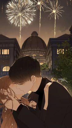 Anime Couple Kiss, Manga Couple, Romantic Anime Couples, Romantic Manga, Anime Love Story, Manga Love, Anime Couples Drawings, Anime Couples Manga, Anime Couples Hugging