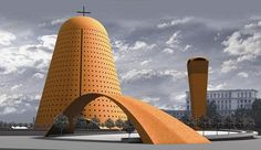 """The Radu Teaca's project for """"Catedrala Mantuirii Neamului"""". Source: Google"""