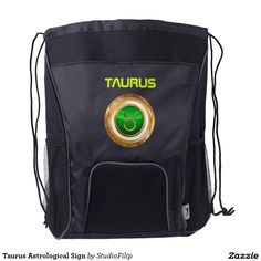 Taurus Astrological Sign Drawstring Backpack | 15% OFF anything | Enter coupon code ALLOVERSTYLE during checkout |. Good through April 6, 2016 11:59PM PT