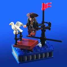 LEGO vignette: Entrée by Jack Sparrow by xtitus, via Flickr