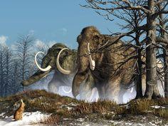 A Storm Of Mammoths by Daniel Eskridge.