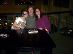 "FTOP: ""Lia & I with Denis Leary @ Barnes& Noble Clifton, NJ"". You lucky bastards! I'm jealouuus!!!"
