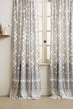 Mara Hoffman Curtain #anthropologie