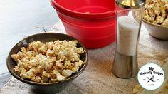 Cinnamon and Sugar popcorn recipe horizontal