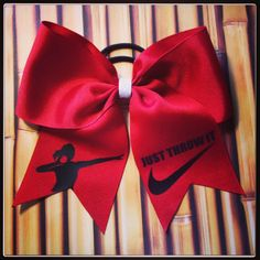 A great compliment to our track bows - our first (and the first that I've ever seen) shot put bow!  We're also working on discus and javelin!  www.facebook.com/MidnightBows Instagram - @MidnightBows
