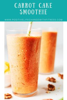 Carrots cake is delicious, but don�t be fooled – carrots don�t make it healthy. Thankfully this Carrot Cake Smoothie recipe has all the flavors of a beloved carrot cake, without all the unnecessary fats and sugars. It makes for a delicious midday snack, o