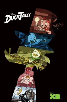 New promotional art from Disney XD's DuckTales series is here! | Disney | Know Your Meme