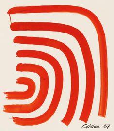 """golden-west: """"Alexander Calder, Shock Waves, 1967. """""""