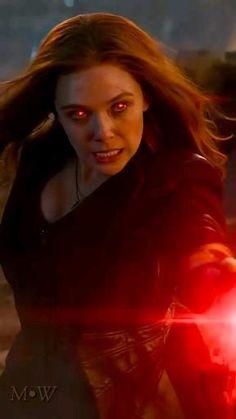 Marvel Avengers Movies, Marvel Films, Marvel Cinematic, Scarlet Witch Avengers, Wanda Marvel, Wanda Avengers, Marvel Coloring, Elizabeth Olsen Scarlet Witch, Marvel Photo