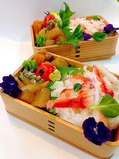 food Bento 蟹ちらしお弁当