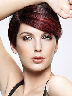 chunky highlights for short hair | by qvovadis