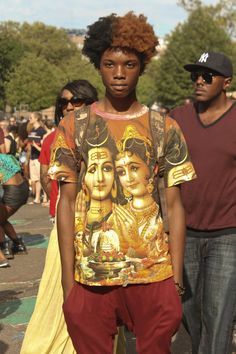 Location: Afro Punk Submitted by:Gabriel Eugene Photographed by: http://hovstaydope.tumblr.com/