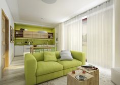 Two Different Springtime Themes In Two Small Apartments | Architecture |  Pinterest | Small Apartments And Apartments