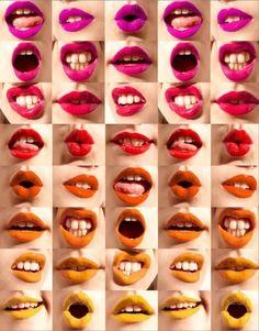 Lips, lips, lips.