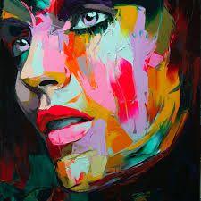 Afbeeldingsresultaat voor schilderij vrouw gezicht