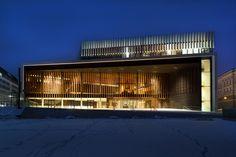 terry pawson architects' winning linz musiktheater complete - designboom   architecture