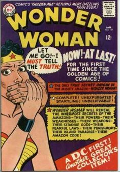 -Wondy - ❤️- Volume 1 - - The Golden Age Secret Origin of Wonder Woman Dc Comic Books, Vintage Comic Books, Vintage Comics, Comic Book Covers, Star Comics, Dc Comics, Wonder Woman Comics, Amazons Wonder Woman, Silver Age Comics