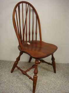 NICHOLS U0026 STONE Brace Back Windsor Chair: Boston Public Library