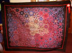 This quilt of mine won a Judges' Merit at the 2009 National Quilt Champsionships