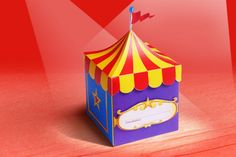 Convite - Festa no Circo - PeuArt Atelie Digital