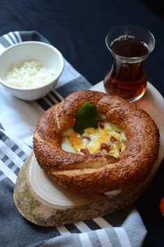 Breakfast idea with Simit