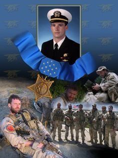 Medal of Honor recipient LT. Michael P. Murphy was killed in action in Afghanistan. The events are recalled in the book The Lone Survivor, by Navy Seal Marcus Luttrell. Danny Dietz, Marcus Luttrell, Chris Kyle, Gi Joe, Michael Murphy, Medal Of Honor Recipients, Lone Survivor, Us Navy Seals, Killed In Action