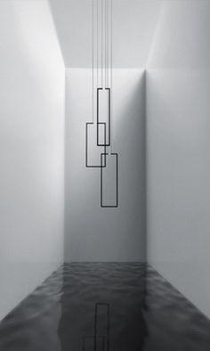 Inarchi   FRAME suspension lights