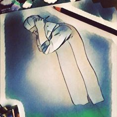 🙉💤#drawing #art #artist #artoftheday #painting #like4like #like #newarpfashion #followme #follow4follow #fashionillustration #fashionista #fashionblog #followyou #boy #streetstyle #instapic #instafashion