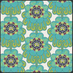 Contempo Blooms cool von Art Gallery Fabrics