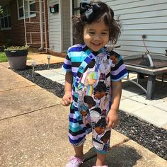 Happy girl loves her romper! #punklets #muse #momswhosew #handmade #toddlerfashion