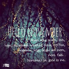 We're still in November at least, although not for long. Happy New Month Messages, New Month Wishes, November Images, November Quotes, Welcome November, Hello November, November Backgrounds, New Month Quotes, Interactive Facebook Posts