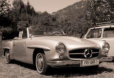 Mercedes Benz #190SL. @ Pic credit/source: http://www.fotocommunity.de/pc/pc/display/17464813. For all your Mercedes Benz #190SL restoration needs please visit us at http://www.bruceadams190sl.com. #BruceAdams190SL.