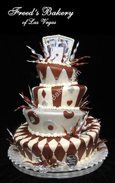 wedding cake idea.  needs some modifications but this is the general idea
