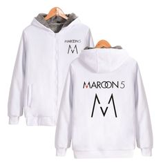 ALIZAZA Rock Band Maroon 5 Hoodie Sweatshirt Band Logo Print Streetwear Pullover For Rock music enthusiast Oversize 4XL #Affiliate