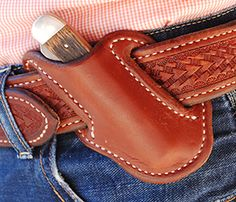Big Bend Saddlery - Knife Scabbard (Sheath)