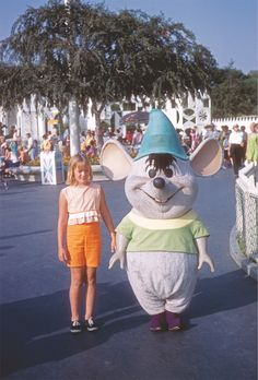 Gus Gus, Disneyland, 1968