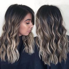 balayage hair Beautifully brunette Styled by hairby_kalvyn Brown Hair Balayage, Brown Blonde Hair, Hair Color Balayage, Brunette Hair, Dark Hair, Red Hair, Balayage Hair Brunette With Blonde, Hair Color Ideas For Brunettes Balayage, Balyage Hair